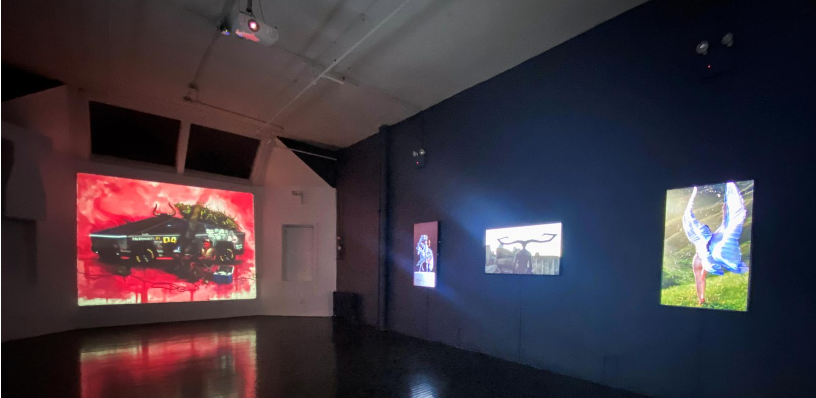 Digital art gets physical home, buyers in New York gallery
