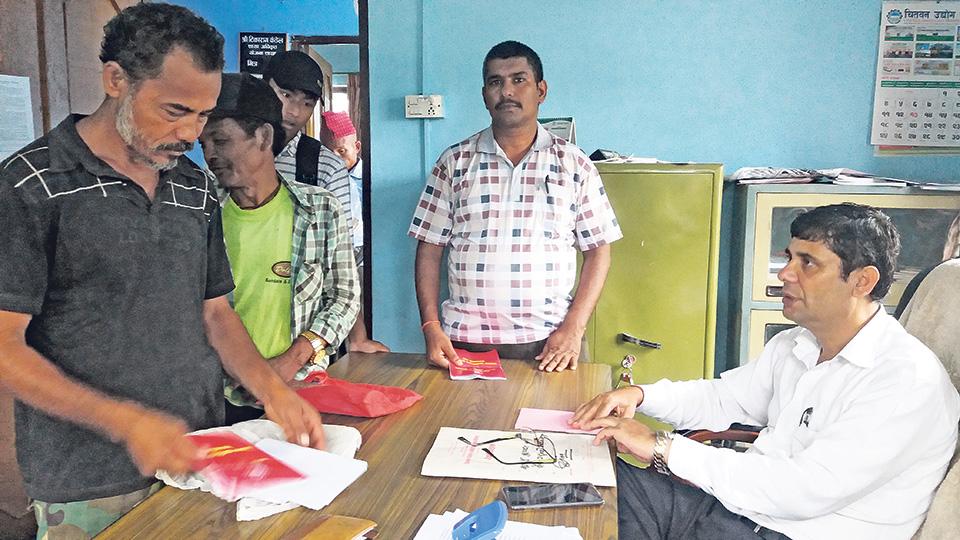 Documentation error depriving quake victims of grants