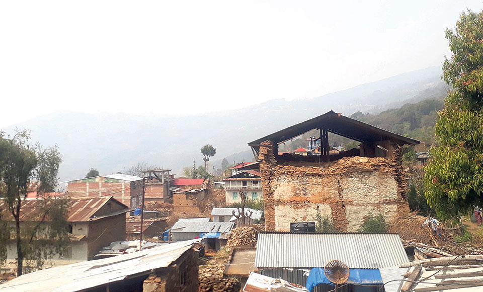 Malla-era town at risk following big earthquake