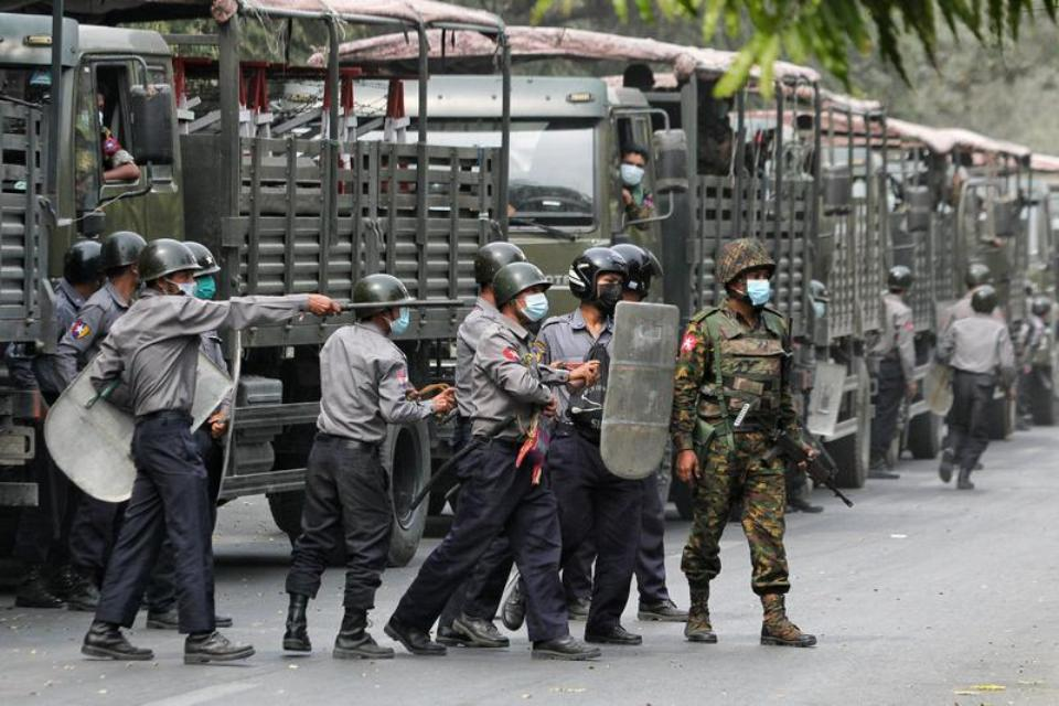 Myanmar protesters gather again after worst day of violence