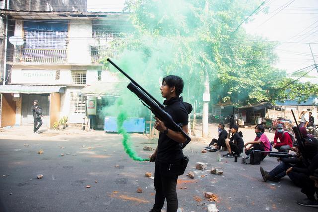 Myanmar protesters take up Easter eggs; junta hunts celebrities