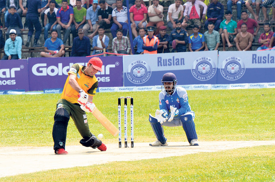 Dhamala, Mustafa shine again as Chauraha registers second win in DPL