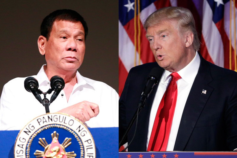 Philippines says Trump called Duterte to affirm alliance