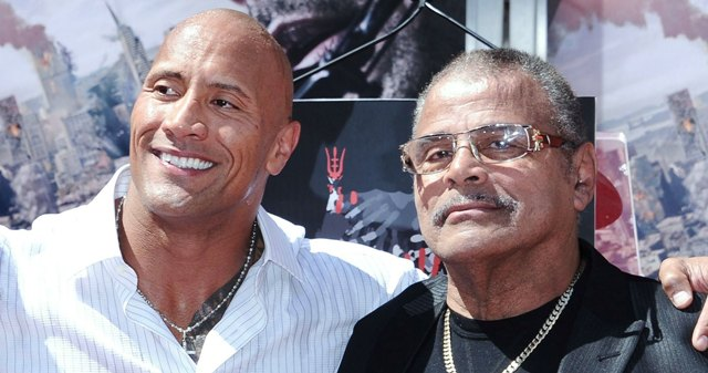 Dwayne finally opens up about father's death