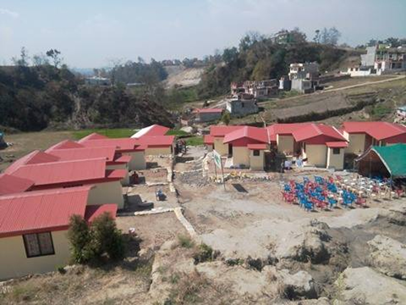 New houses handed over to earthquake victims
