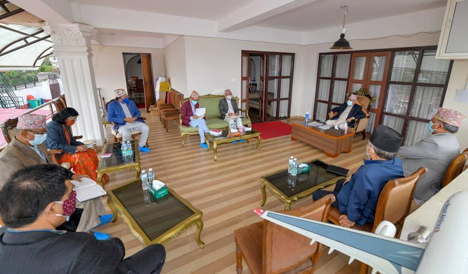 PM Oli asks Election Commission to take initiatives for November polls