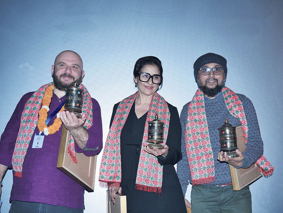 Outstanding filmmakers awarded as Ekadeshma Concludes