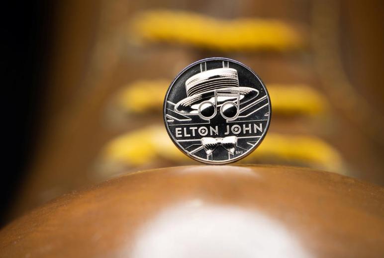 UK's Royal Mint celebrates singer Elton John with new commemorative coin