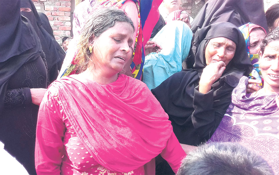 Locals terrorized after abducted son of ward chief killed