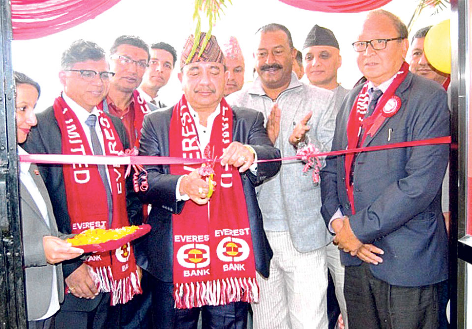 Everest Bank inaugurates a branch at Banepa
