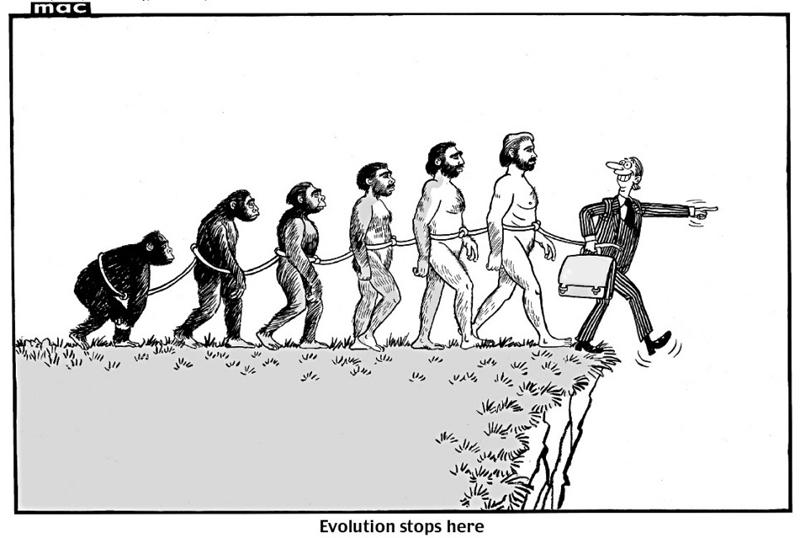 Rise of Homo corruptus