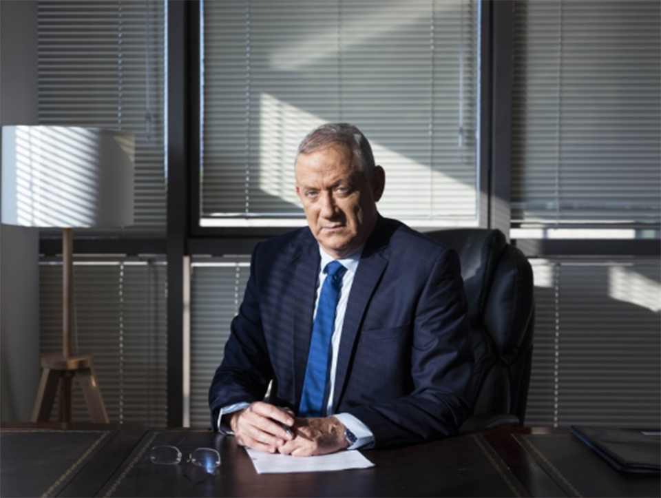 Ex-army chief hoping to be Israel's next premier