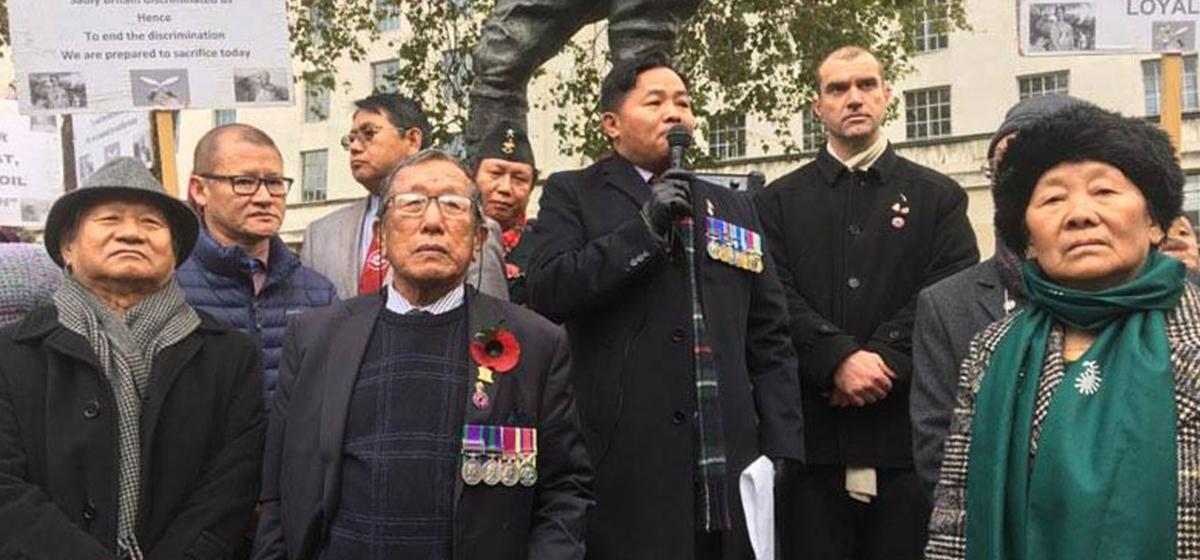 Preliminary meeting held to address ex-Gurkhas' demands