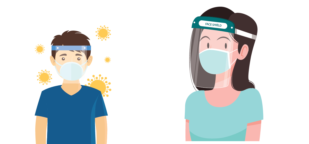Use of face shields made mandatory for public transport users