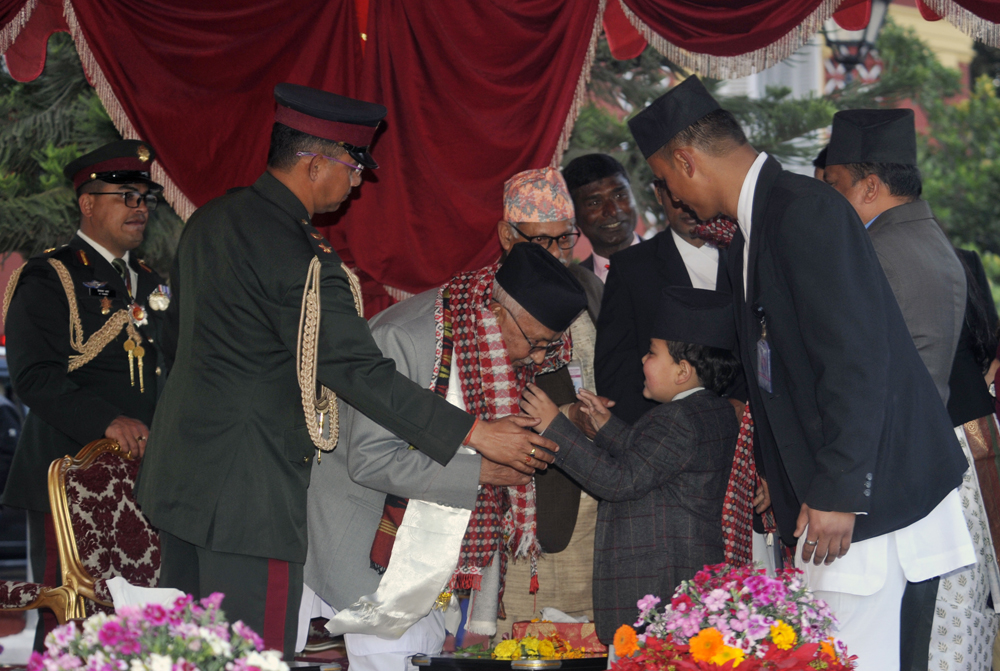PM Oli off to PM Residence