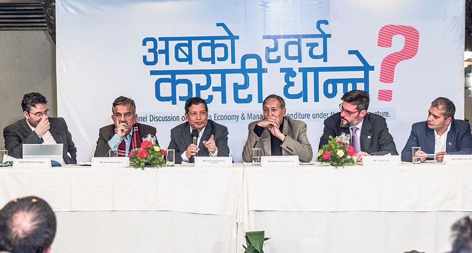 Experts dwell on financing federalism in Nepal