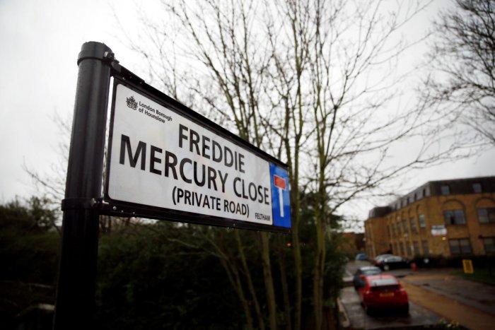 London street named after Freddie Mercury