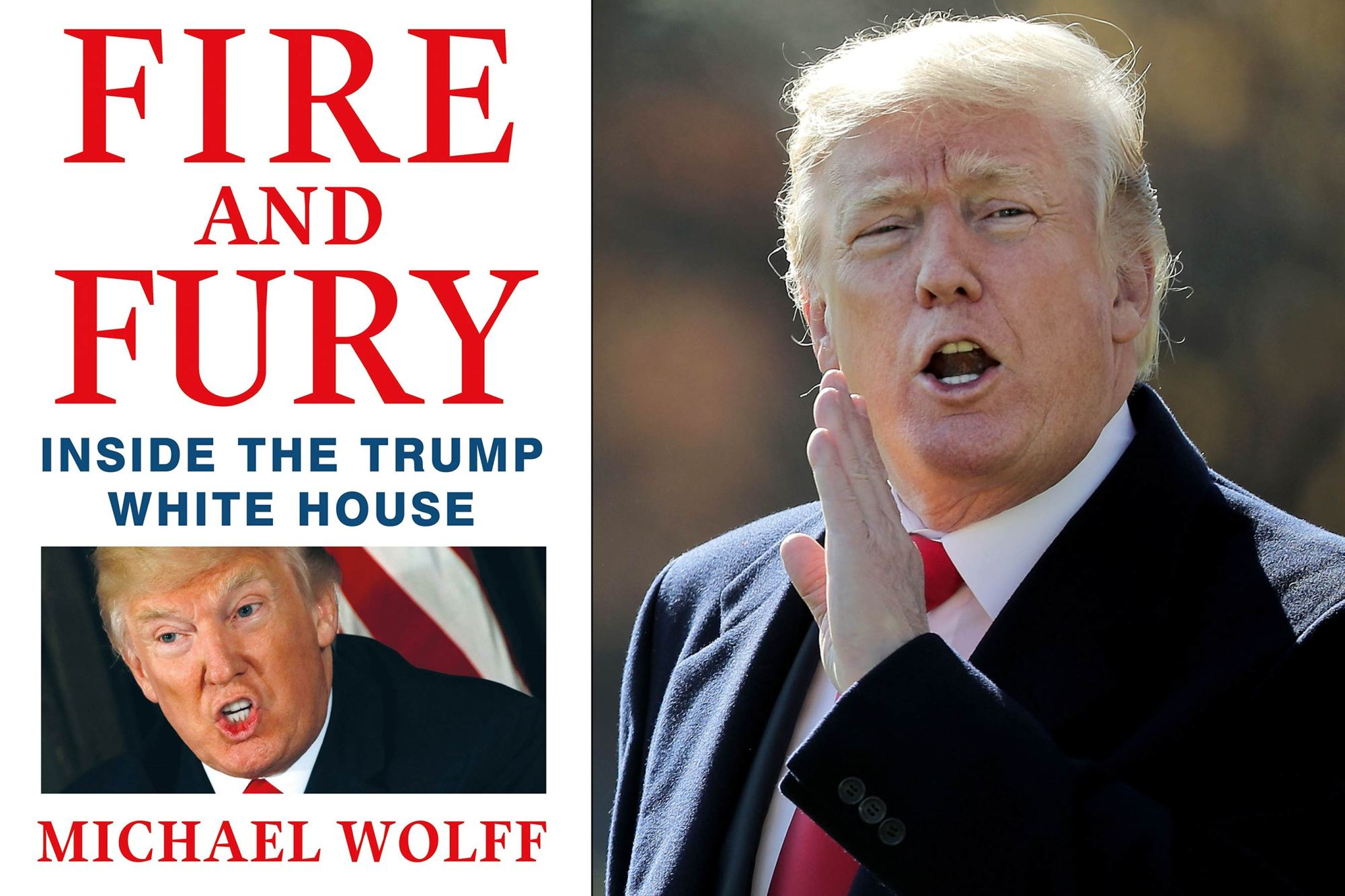 Trump: Wolff book on US administration is 'full of lies'