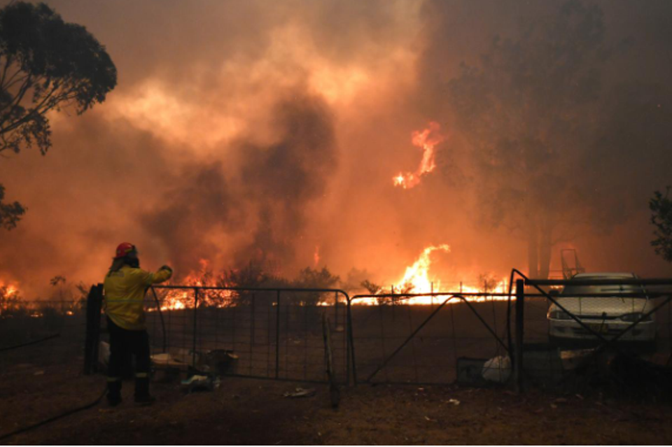 Ring of fire: Australian state declares emergency as wildfires approach Sydney