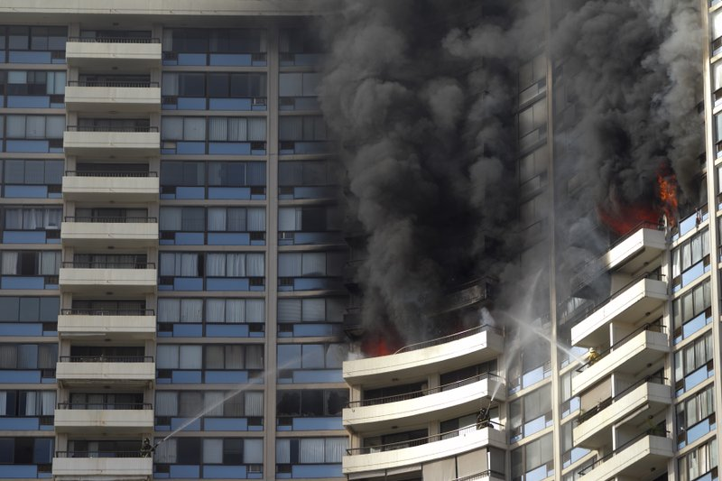 3 dead in fire in Honolulu high-rise apartment building