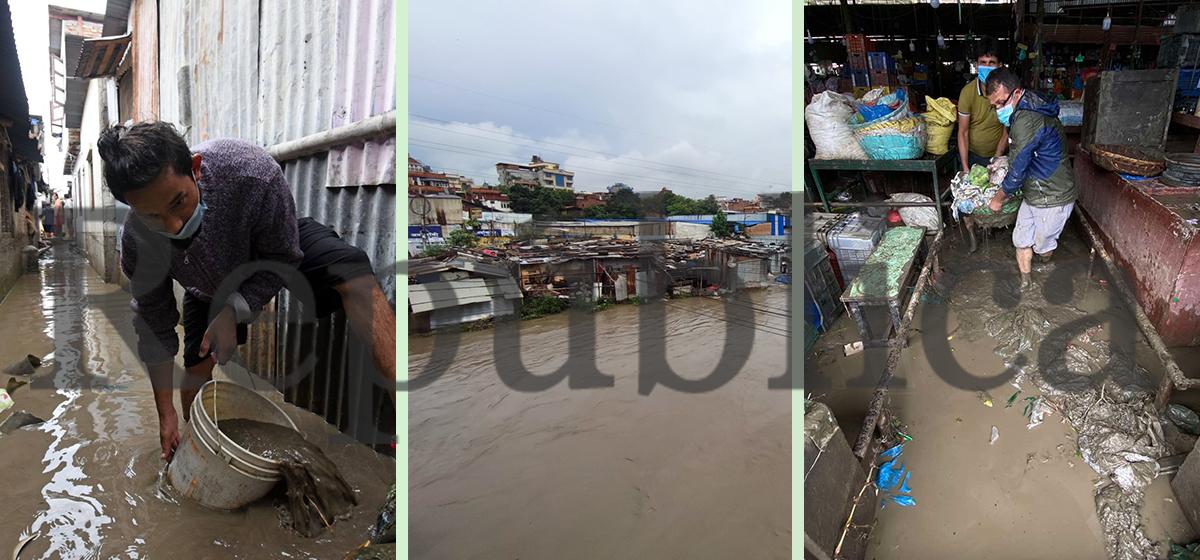 PHOTOS: Flood inundates houses as rain wreaks havoc in Valley