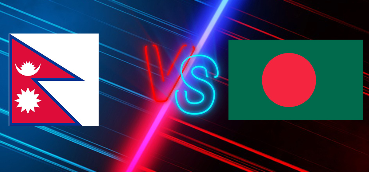 Nepal beats Bangladesh 2-1 in their first int'l friendly