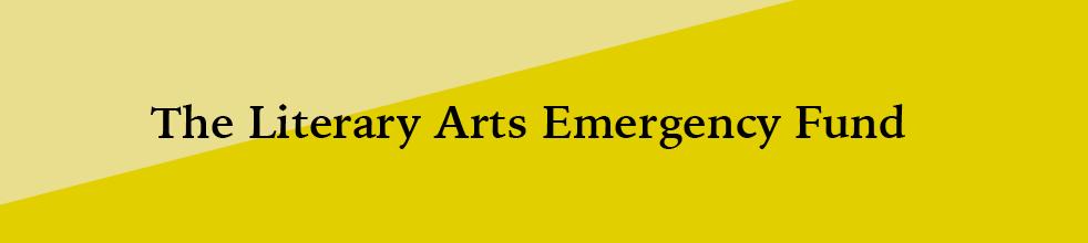 Arts organizations establish 'Literary Arts Emergency Fund'
