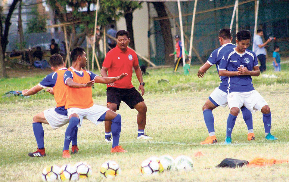 Coach Maharjan's 'title contender' Nepal faces a must-win match against Bhutan