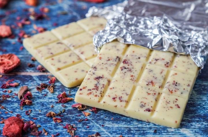 Recipe of white chocolate