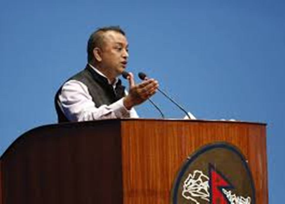 NC leader Gagan Thapa criticizes Finance Minister Khatiwada for his 'dismal performance'