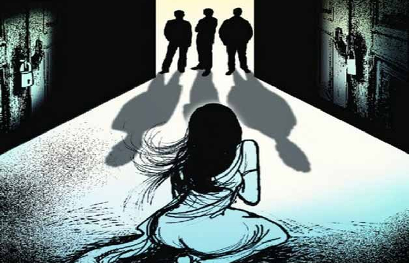 Two girls gang-raped
