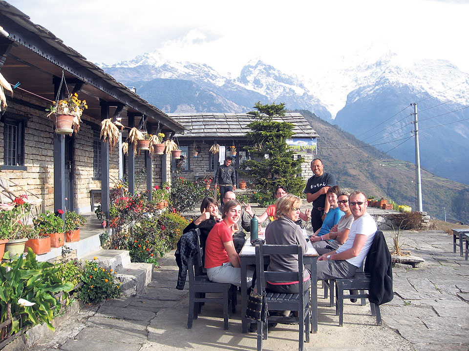 Ghandruk lodges offer special discounts for Nepalis