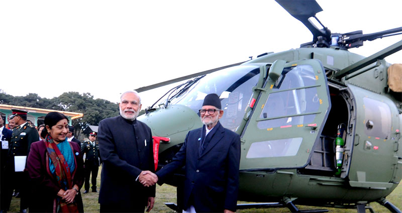 India asks Nepal to pay Rs 1.27 billion for gifted chopper