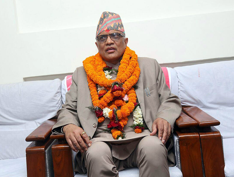 Parajuli assumes responsibility of Acting Chief Justice