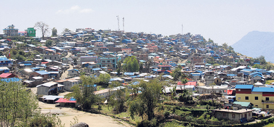 Quake epicenter Barpak on slow road to recovery