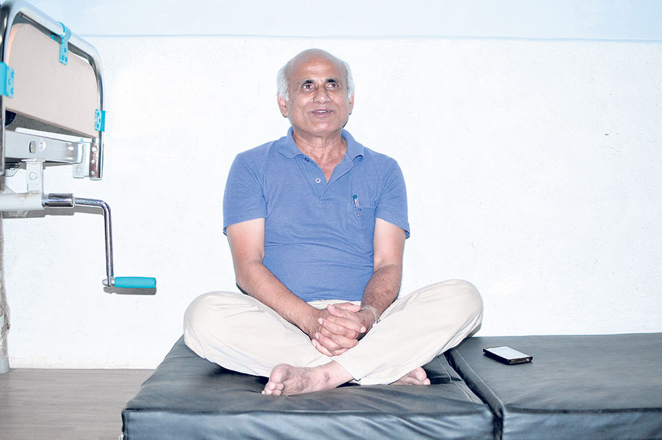 Dr KC on 13th hunger strike, wants KU VC sacked