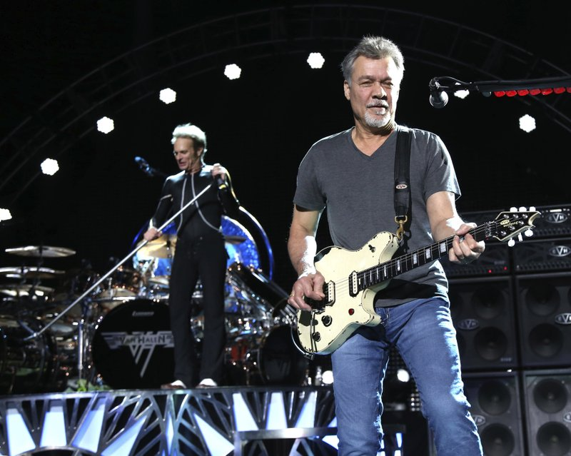Guitars played, partly made by Eddie Van Halen go to auction