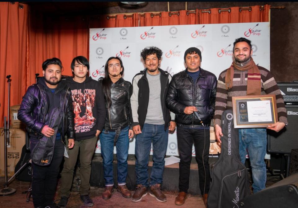 Prashanna Bhandari won the 'Mantra Guitar Competition 2019'