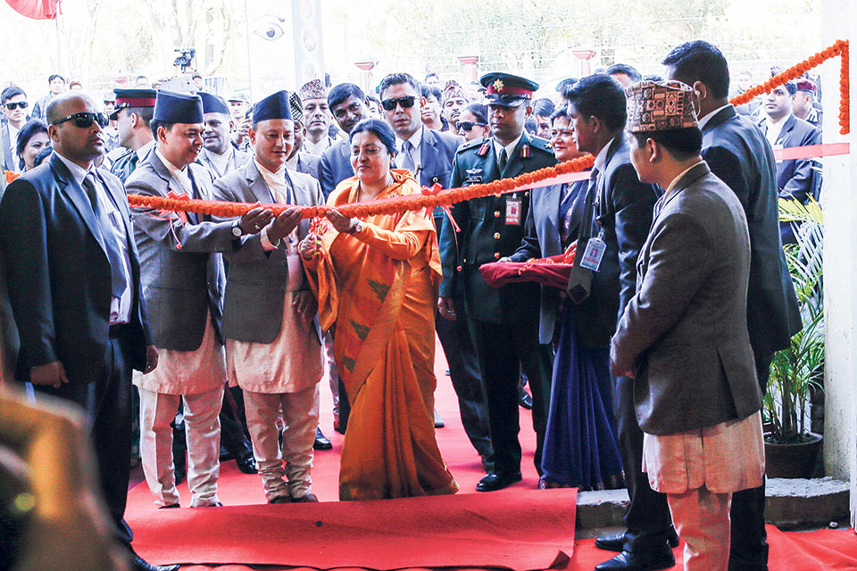 15th handicraft trade fair kicks off in Kathmandu