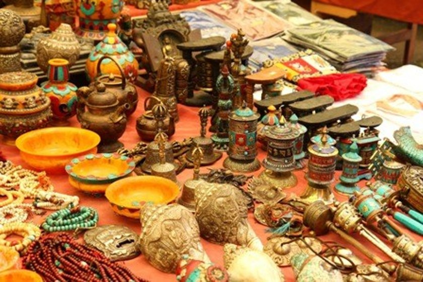 Nepali handicraft exhibition in Kerung