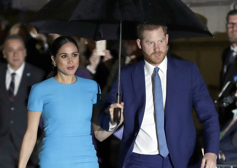 Harry and Meghan sue over photo of son at California home