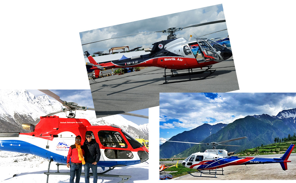BREAKING NEWS: 4 helicopters in Kavre and 3 in Nepalthok, Sindhuli make emergency landing