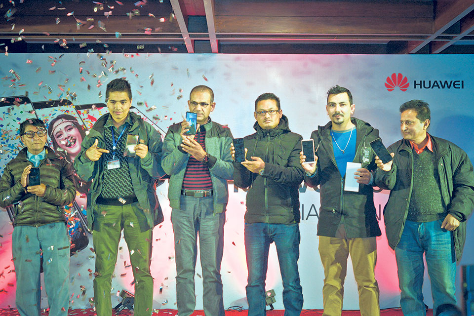 Huawei launching Nova 2i in Kathmandu on Sunday