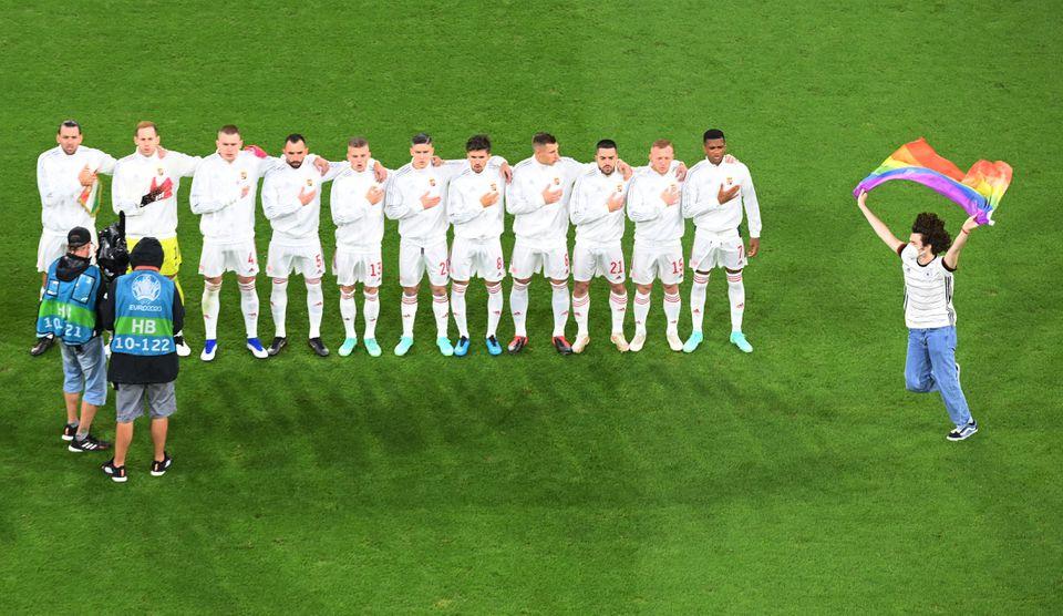 UEFA probes discrimination during Germany v Hungary Euro 2020 game