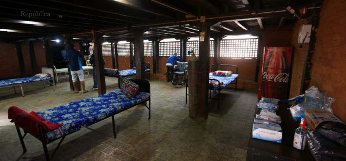 Youths set up isolation facility as hospitals in Valley are overwhelmed with surge in new cases of COVID-19 (with photos)