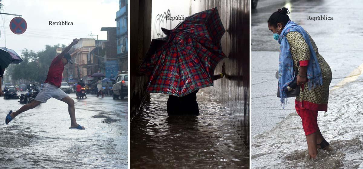 IN PICS: Massive downpour inundates Jorpati