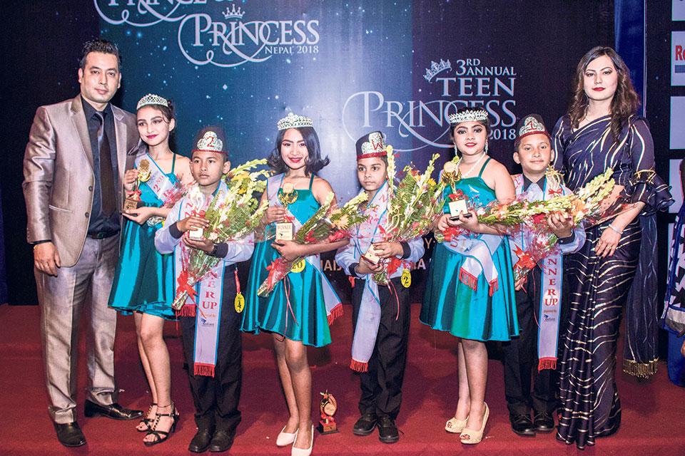 Niraula crowned Teen Princess Diva