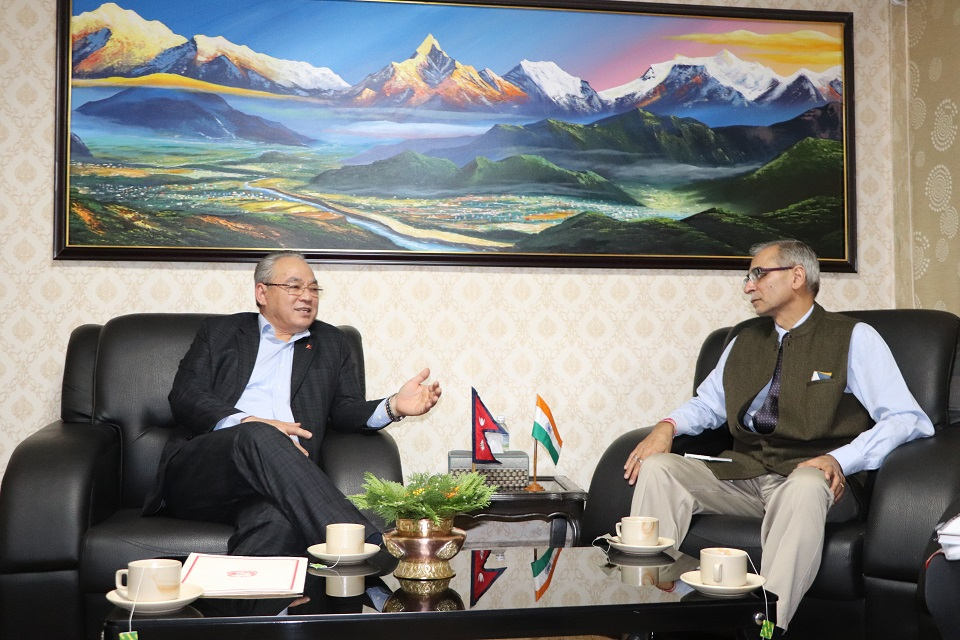 HM Thapa urges India to control cross border movement