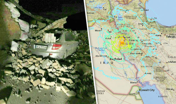 Strong earthquake hits Iraq and Iran, killing more than 130