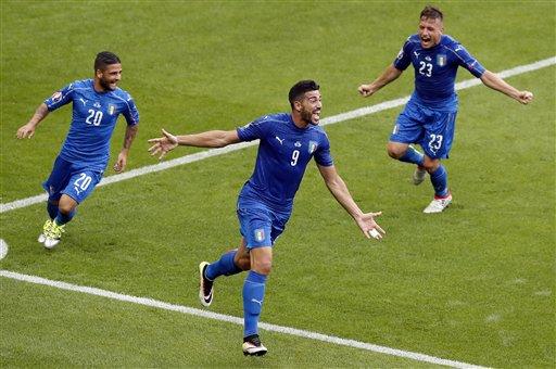 Impressive Italy beats Belgium 2-0 at Euro 2016